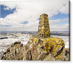 Trig Point Acrylic Print by Ashley Cooper