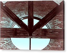 Trinity Series 5 Acrylic Print by Luther   Fine Art