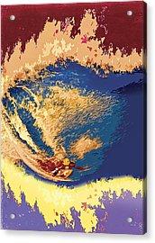 Triple Crown Acrylic Print by Ron Regalado