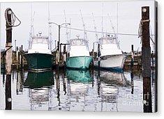 Triple Pleasure - Outer Banks Acrylic Print by Dan Carmichael