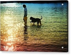 Tripping The Light Fantastic Acrylic Print by Laura Fasulo