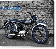 Triumph Tiger Cub Acrylic Print by Mark Rogan