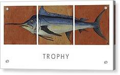 Trophy Acrylic Print by Andrew Drozdowicz