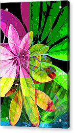 Tropical Delight Two Acrylic Print by Ann Powell