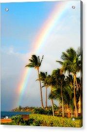 Tropical Dreamin' Acrylic Print by Lynn Bauer