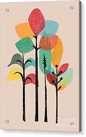 Tropical Groove Acrylic Print by Nava Seas