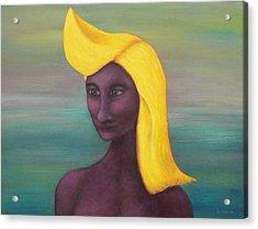 Tropical Mona Acrylic Print by Douglas Case