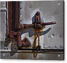 Truck Handle Acrylic Print by Murray Bloom