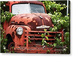 Truck Acrylic Print by John Rizzuto