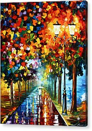 True Colors Acrylic Print by Leonid Afremov