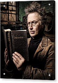 True Evil - Science Fiction - Horror Acrylic Print by Gary Heller