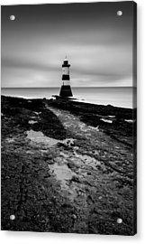 Trwyn Du Lighthouse 2 Acrylic Print by Dave Bowman
