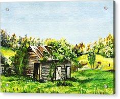 Tuchekoi Acrylic Print by Lynne Wilson