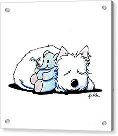 Tuckered Out Acrylic Print by Kim Niles