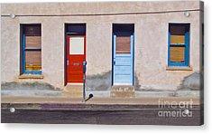 Tucson Arizona Doors Acrylic Print by Gregory Dyer