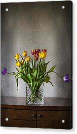 Tulips Acrylic Print by Svetlana Sewell