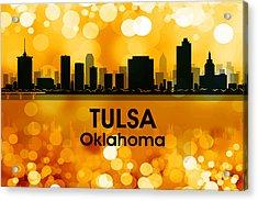 Tulsa Ok 3 Acrylic Print by Angelina Vick