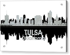 Tulsa Ok 4 Acrylic Print by Angelina Vick