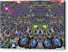 Tunnel Dance 2 Acrylic Print by Jason Saunders