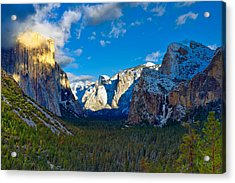 Tunnel View Acrylic Print by Mark Whitt