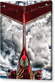 Tupolev Tu-154  Acrylic Print by Stelios Kleanthous