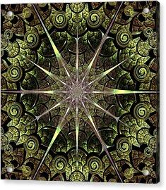 Turtle Gates Acrylic Print by Anastasiya Malakhova