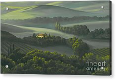 Tuscan Daybreak Acrylic Print by Michael Swanson