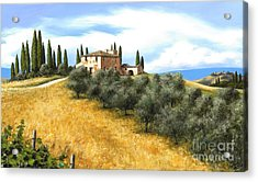 Tuscan Sentinels Acrylic Print by Michael Swanson