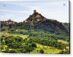 Tuscany - Castiglione D'orcia Acrylic Print by Joana Kruse