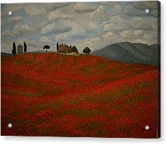 Tuscany Acrylic Print by Abigail Avila