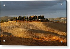 Tuscany Hills Acrylic Print by Alex Sukonkin