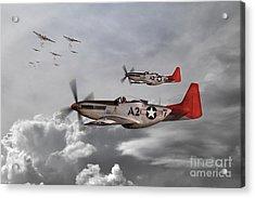 Tuskegee Airmen Acrylic Print by J Biggadike