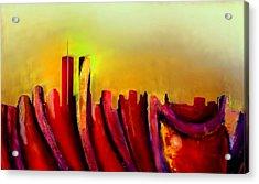 Twins - Marcello Cicchini Acrylic Print by Marcello Cicchini