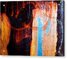 Two As One Acrylic Print by Bob Orsillo