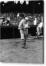Ty Cobb Batting Acrylic Print by Retro Images Archive