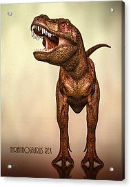 Tyrannosaurus Rex 2 Acrylic Print by Bob Orsillo