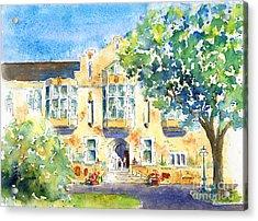U Of S College Building Acrylic Print by Pat Katz