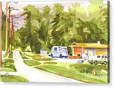 U S Mail Delivery Acrylic Print by Kip DeVore