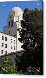 Uc Berkeley International House College Dormatory 5d24741 Acrylic Print by Wingsdomain Art and Photography