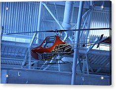 Udvar-hazy Center - Smithsonian National Air And Space Museum Annex - 1212102 Acrylic Print by DC Photographer