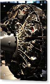 Udvar-hazy Center - Smithsonian National Air And Space Museum Annex - 121215 Acrylic Print by DC Photographer