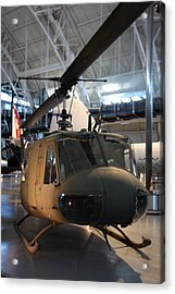 Udvar-hazy Center - Smithsonian National Air And Space Museum Annex - 121223 Acrylic Print by DC Photographer