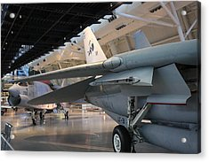 Udvar-hazy Center - Smithsonian National Air And Space Museum Annex - 121237 Acrylic Print by DC Photographer
