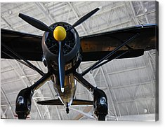 Udvar-hazy Center - Smithsonian National Air And Space Museum Annex - 121249 Acrylic Print by DC Photographer
