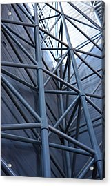 Udvar-hazy Center - Smithsonian National Air And Space Museum Annex - 121270 Acrylic Print by DC Photographer