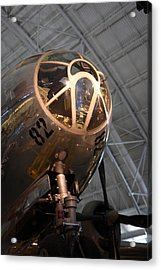 Udvar-hazy Center - Smithsonian National Air And Space Museum Annex - 121288 Acrylic Print by DC Photographer