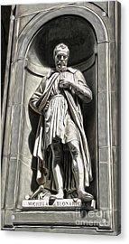 Uffizi Gallery - Michelangelo Buonarroti Acrylic Print by Gregory Dyer