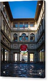 Uffizi Acrylic Print by Inge Johnsson