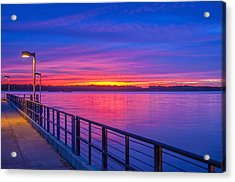 Ultraviolet Acrylic Print by Donnie Smith