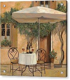 Un Altro Bicchiere Prima Di Pranzo Acrylic Print by Guido Borelli